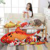 Simulation Squid Pillow Doll Cute Sleeping Holding Plush Toy Girl Small Goldfish Doll Cat Doll - RED KOI