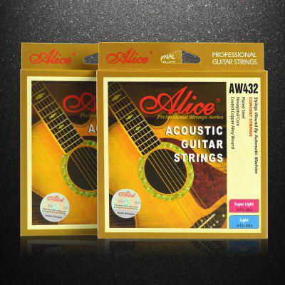 Guitar String Professional Steel Core Ballad Guitar Alice String Guitar String