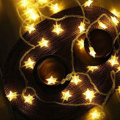 LED Star Lights Flashing Lights Starry String Lights Wedding Holiday Room Christmas Decoration Lights Photo Props