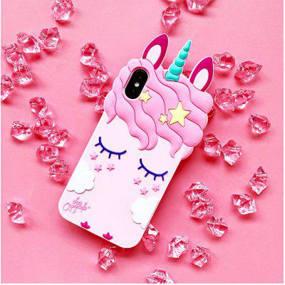Gel Color Horse Calitate IPhone x Telefon Mobil Shell Noua Unicorn 8 Silicon Telefon Mobil Shell Iphone 7 Capac de protecție