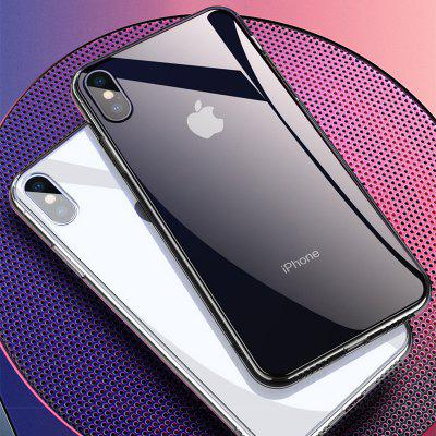 Iphone Xs Max Telefon din sticlă Iphone Xs Cover de protecție Anti-cădere