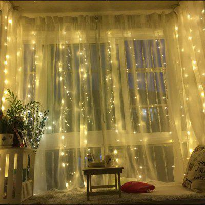 Holiday Christmas Curtain Lights Led Lights String Ice Strips Decorative Curtain Lights