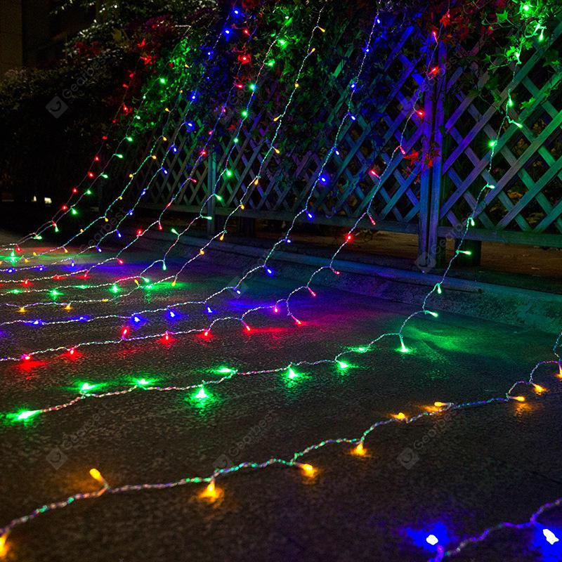 Led Star Light String Waterproof Ice Bar Curtain Lamp Eaves Railing Hanging Decorative Lamps Flashing Lights Color Remote Control