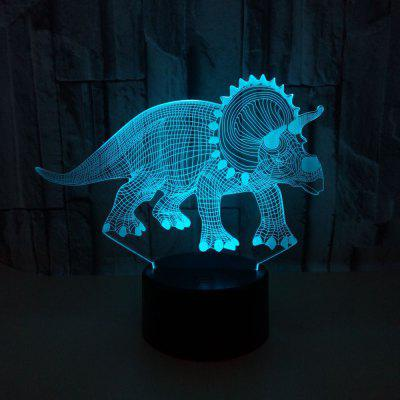Dinosaur Colorful 3D Visual Light LED Colorful Lights 3D Touch Light Colorato Creative Color Desktop 3D Night Light