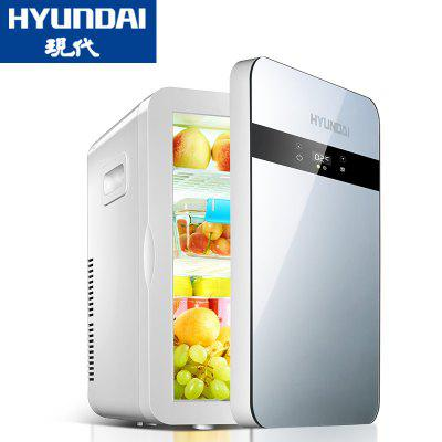 HYUNDAI Hyundai 20L Car Refrigerator Home Small Mini Refrigerator Car With Heating And Cooling Car Home Dual-use