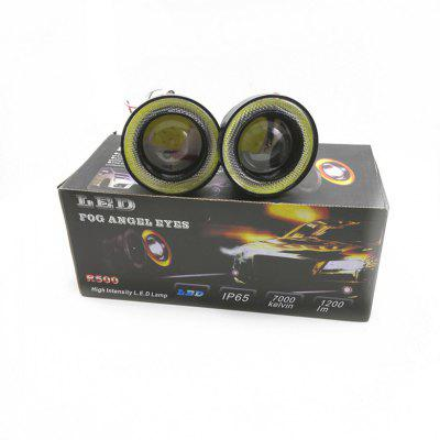 Car LED Lens 30W Fog Lamp 2.5 Inch 3 Inch 3.5 Inch With COB Angel Eye Bulls Eye Fog Lamp Modified Fog Lamp