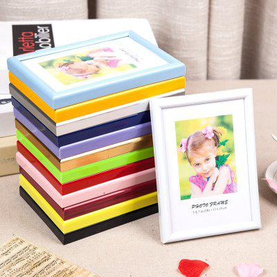 Comprehensive Round Side Colorful Photo Frame Simple Creative Hanging Studio Wall Decoration