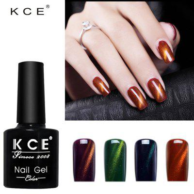 Nail Tool Temperatuurverandering Cat Eye Gold Light Nail Rubber