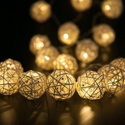 Wedding Garden Decoration Solar Light String Battery Light Decorative LED Light String