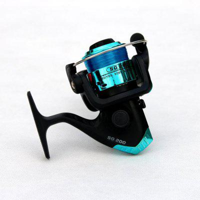 Mini roda de pesca de metal SG2003BB