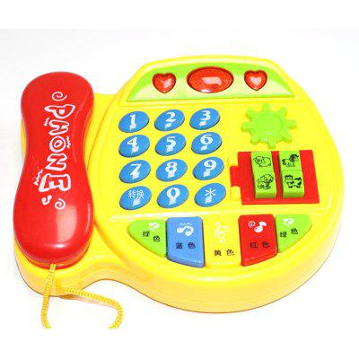 Children Toys Phone Kids Early Education Simulation Phone Multi-function Music Boy Girl Baby Baby Enlightenment
