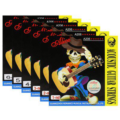 Alice A206 Acoustic Guitar String Acoustic Guitar Strings Alice Guitar String 1 String 2 String 3/4/5/6 String String