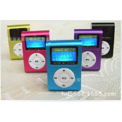 Card With Screen Clip MP3 Gift Sports Support Multi-language With Screen MP4