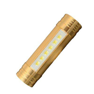 Strong Light Flashlight Mobile Phone Charging Treasure Head Three-in-one Glare Long-range Outdoor Camping