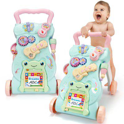 Baby Walker Trolley Toy Multifunction Anti-rollover 7-18 Months 1 Year Old Boys And Girls Baby Walker
