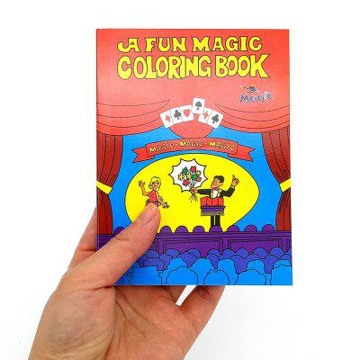 Magic Cartoon Book Mini Magic Book Without Words