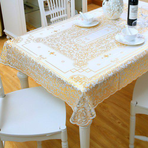 """Round Thick Lace Tablecloth Natural Golden beige  59/"""" 150cm  Premium Quality"""