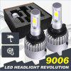 S2 Car 9006 72w COB Headlights Led Headlights 8000LM Cob 9006 36W Headlights - 9004/9007