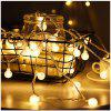 Led USB Section Ball Bubble Christmas Lantern Decorative Light - WARM WHITE