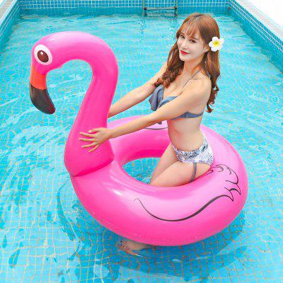 Europe And The United States Increase Inflatable Swimming Ring Flamingo Adult Water Swimming Ring Children Water Riding Ring