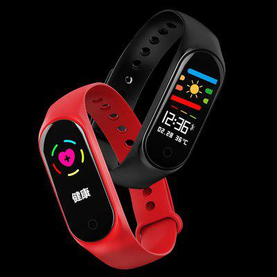 M3S Sports Bracelet Anti-watercolor Screen Bluetooth Step Counter Heart Rate Blood Pressure Monitoring Watch Smart Wearable Device
