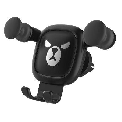 Shore houten auto telefoonhouder Outlet Air Phone Holder Cartoon auto beugel Creative Gift