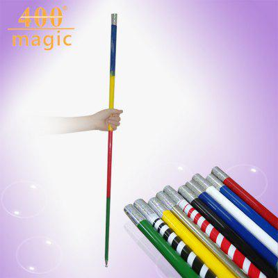 Magic Steel Metal Hoop Sticks Silver Steel Rod Magic Wand Puntelli per Magic Stage