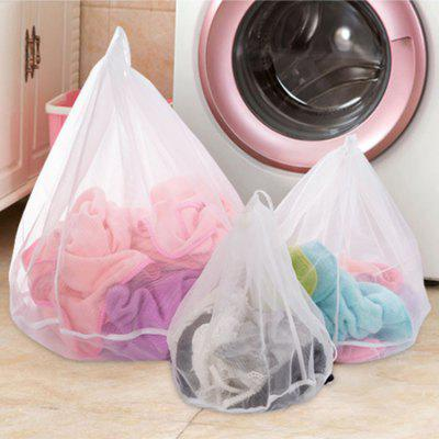 Thickening Fine Lines With Drawstring Laundry Bag Clothing Wash Bag Fine Mesh Underwear Protective Bra Mesh Bag