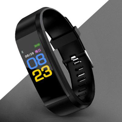 Smart Armband Vibration Alarm Clock Monitoring Hartslag Bloeddruk Multifunctionele Waterdichte Sport Horloge Stappenteller