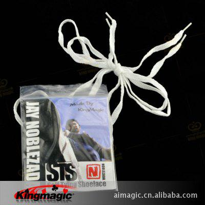G1071 Shoelace Self-tie King Magic Magic Prop Magic Prop Close-up Magic