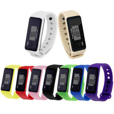 New Smart Pedometer Watch Student Sports Electronic Watch Silicone Gift Watch Explosion