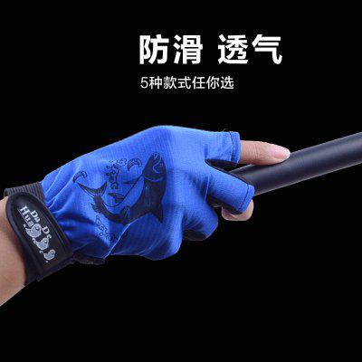 Fishing Gloves Outdoor Hiking Camping Trips Three Fingers Non-slip Sunscreen Breathable Quick-drying Road Asian Fishing Gloves