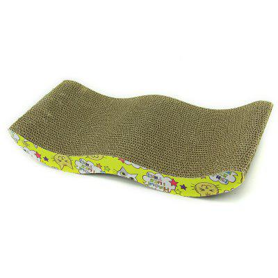 Pet Cat M Typ S Papier falisty Drapak dla kotów Cat Claw Toy 4CM Grubość Cat Catching Box Pet Supplies