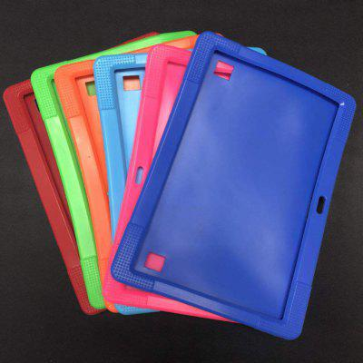 10 Inch Protective Cover Shatter-resistant And Shockproof 10.1 Inch Call Tablet Universal Silicone Case Flat Leather Case Protective Case