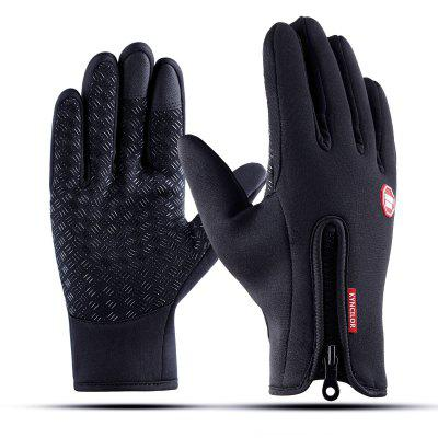 Outdoor-Winter-Fahrrad-Fahrsport-Touch Screen warme Handschuhe