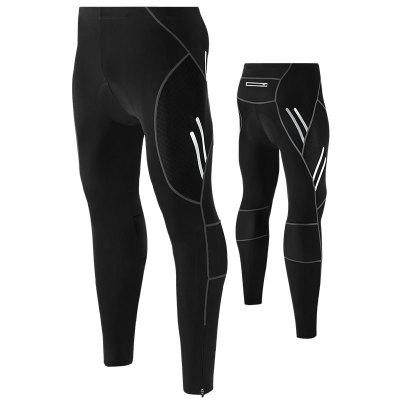 Spring And Autumn Cycling Outdoor Sports Male Mountain Bike Bicycle Service 4D Silicone Jersey Trousers High Elastic Breathable Pants