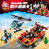 Enlightenment Compatible LEGO Bricks Police Series Children's Educational Military Assembled Toys 5 Boys 6-8-10 Years Old 12 - REMOTE RAID 1907