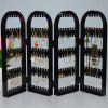 240-hole Multi-function Jewelry Rack Creative Folding Earrings Display Stand - BLACK