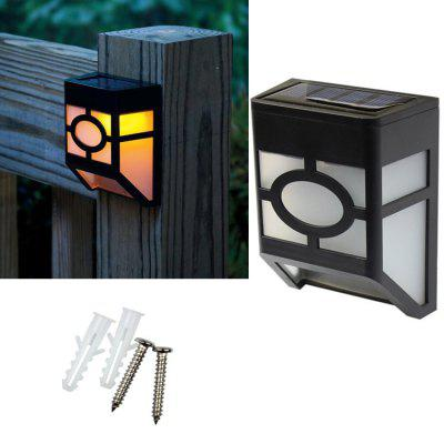 Solar Garden Light Solar Fence Light Outdoor Garden Solar Light 2LED Solar Street Light