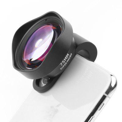 New Super Macro Mobile Phone External Lens 75MM Macro Insect Flower Jewelry Shooting Telephoto Macro Lens