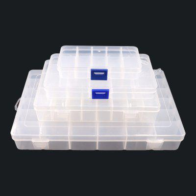 Transparent Plastic Box Small Parts Storage Box Hardware Storage Box Electronic Component Box