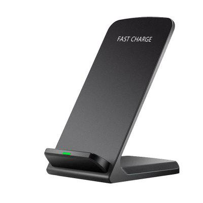 Factory Price Wireless Charger Fast Charge 10W7.5W Compatible 5W Induction Vertical Mobile Phone Bracket Universal