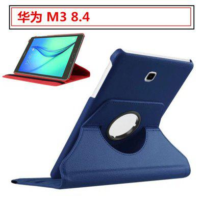 Protective Cover M3 Leather Case Tablet BTV-W09/DL09 Mobile Phone Shell Rotating 8.4 Inch Set for Huawei M3 8.4