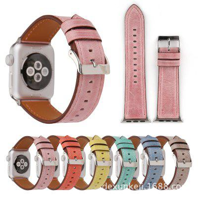 Watch Strap Leather Strap Apple Watch Leather Strap Fresh Wind Strap Iwatch