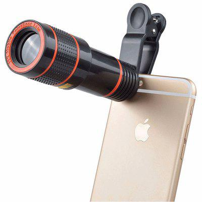 12X HD Camera Zoom Focus External Phone Lens