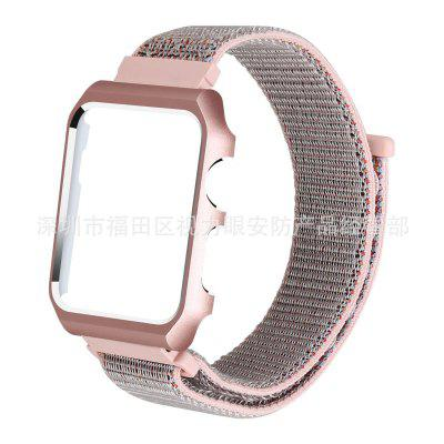Dragonne en nylon sport Loopback en nylon + cadre applicable pour Apple Watch1 / 2/3