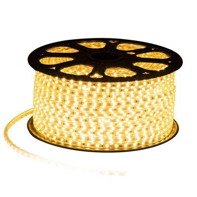 60 Beads Waterproof High Pressure 5050LED SMD Light With Flexible Soft Light Strip 220v Double Row Light Strip