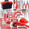 Children's Toolbox Set Baby Simulation Repair Tool Electric Drill Screwdriver Repair House Toy Boy - [STORAGE BOX] 31-PIECE SET + CUTTING WHEEL