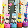 Hand Press Giraffe Wooden Swing Animal Giraffe Child Puzzle Toy - PLEASE TAKE A MULTIPLE OF 12