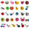 Flamingo Unicorn Fruit Inflatable Water Pad Floating Drink Cup Holder - WHITE SWAN COASTER